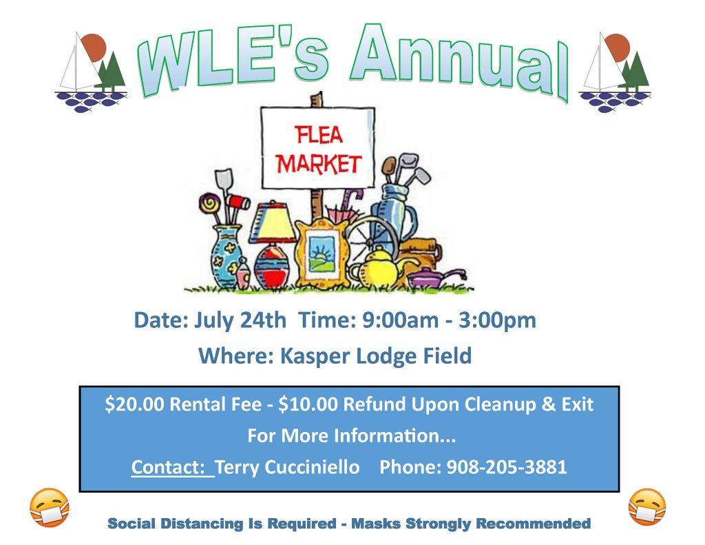 WLE Annual Flee Market