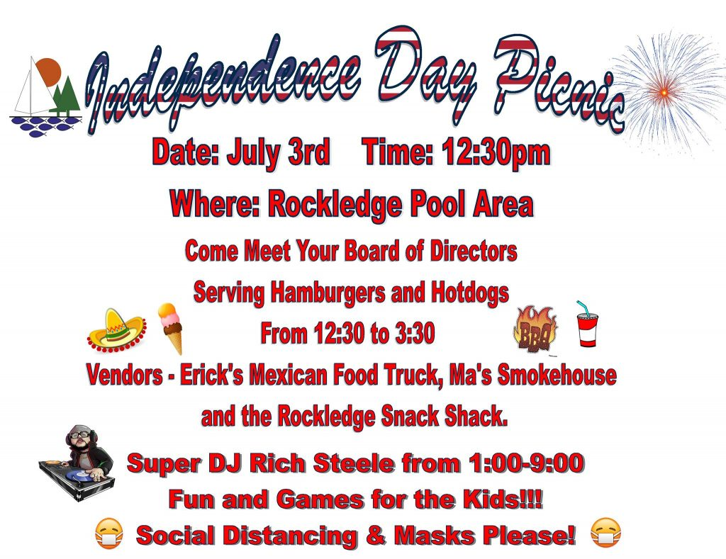 WLE Independence Day Picnic flyer