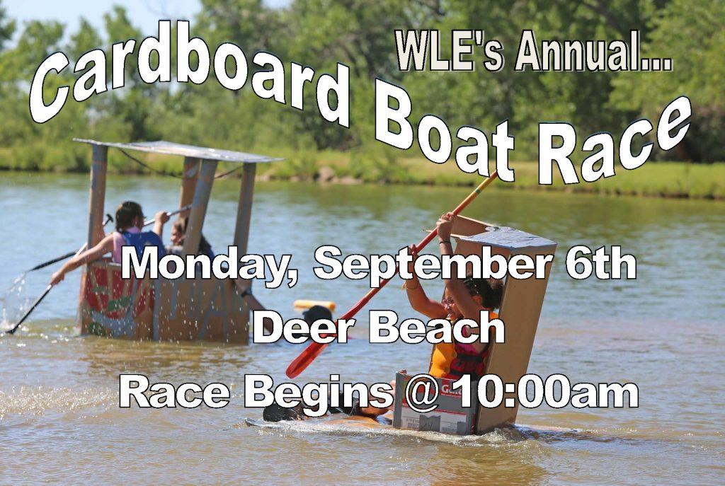 Cardboard Boat Race flyer